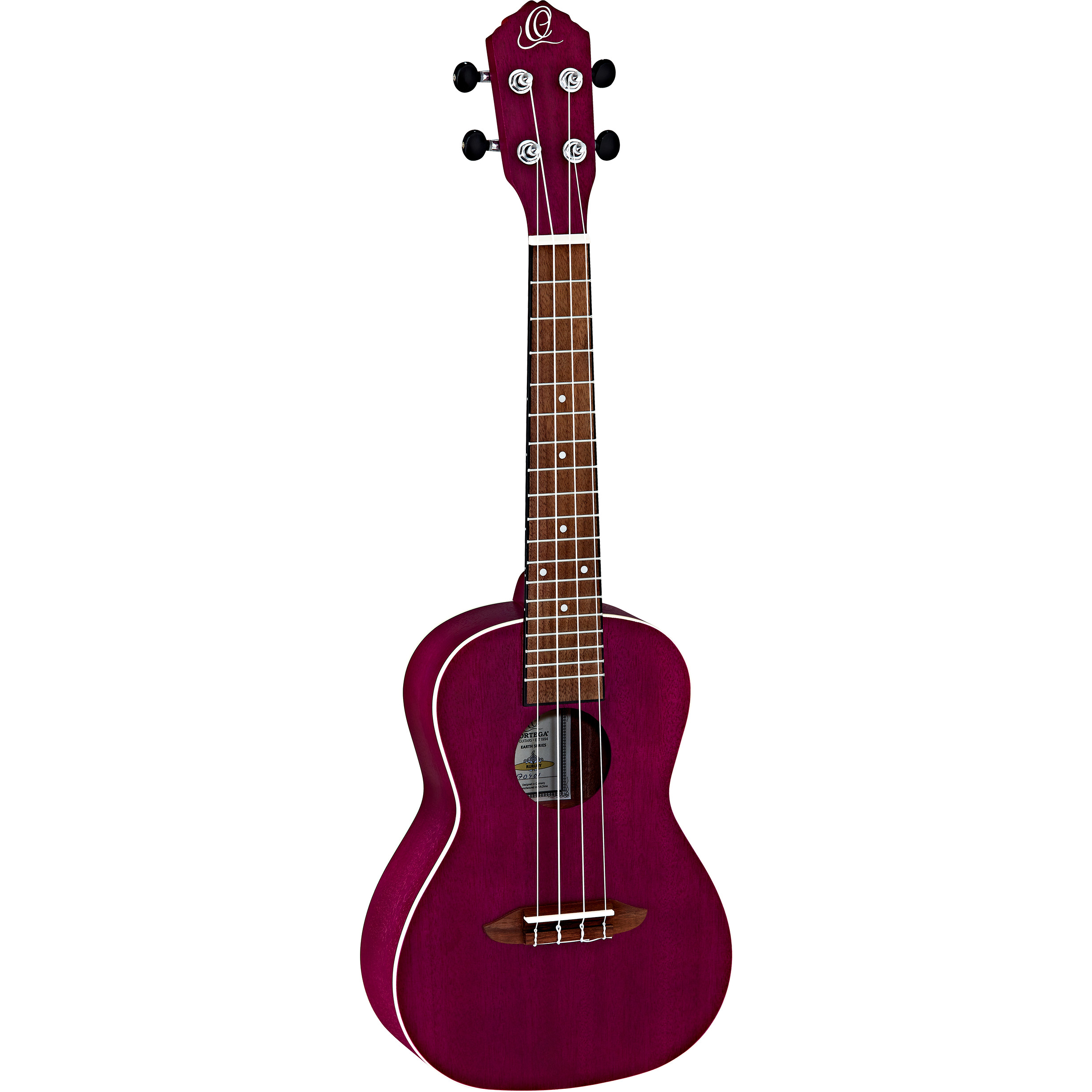 Ortega Earth Series RURUBY concert ukulele, ruby
