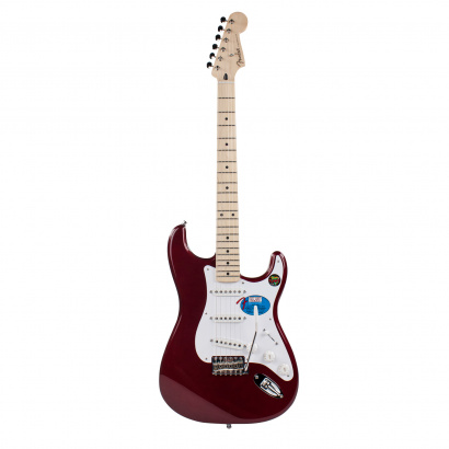 Fender Jimmie Vaughan Tex Mex Strat Candy Apple Red MN