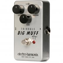 Electro Harmonix Triangle Big Muff Pi fuzz effects pedal