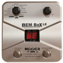 Mooer BEM Box LE multi-effects pedal for bass guitar