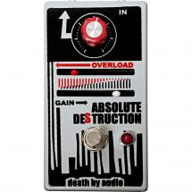 Death By Audio Absolute Destruction fuzz effects pedal