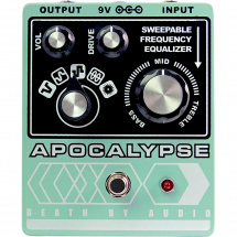 Death By Audio Apocalypse overdrive / distortion / fuzz