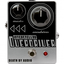 Death By Audio Interstellar Overdriver overdrive effects pedal