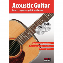 Cascha HH 1102 EN Acoustic Guitar - Learn to play - quick and easy (ENG)