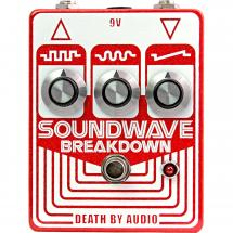 Death By Audio Soundwave Breakdown fuzz effects pedal