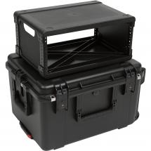 SKB 3i-2217M124U Fly Rack flight case 4U (trolley)