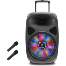 (B-Ware) iDance Groove 540 mobiele accu-speaker incl. 2 microfoons