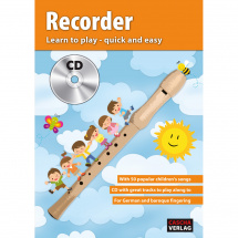 Cascha HH 1502 EN The recorder - Learn to play - quick and easy (EN)