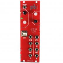 Patchblocks Eurorack Module programmable, red