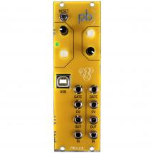 Patchblocks Eurorack Module programmable, yellow