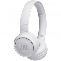 JBL TUNE500BT wireless headphones, white