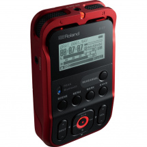 (B-Ware) Roland R07 R field recorder, red