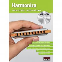 Cascha HH 1602 EN Harmonica - Learn to play quick and easy (ENG)