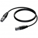 Procab XLR male - XLR female, 5 Meter