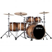 Odery Fusion 401 Magma Vintage 6-piece shell set incl. hardware