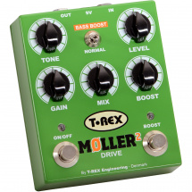 (B-Ware) T-Rex Moller 2 Classic Overdrive Pedal mit Clean Boost