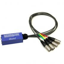 Radial Catapult Mini RX audio converter analogue to Cat 5