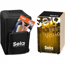 Sela SE 132 EN Varios Gold Cajon Set + bag, pad, book (ENG)