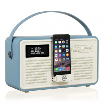 (B-Ware) View Quest Retro MKII portable radio, blue