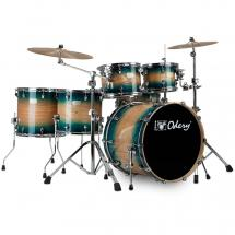 Odery Fusion 401 Blue Burst 6-piece shell set incl. hardware