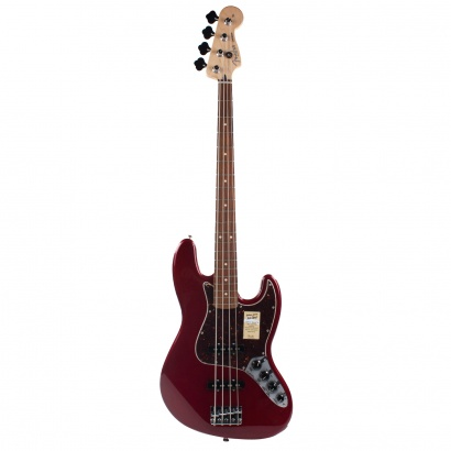 Fender Deluxe Active Jazz Bass, Candy Apple Red RW