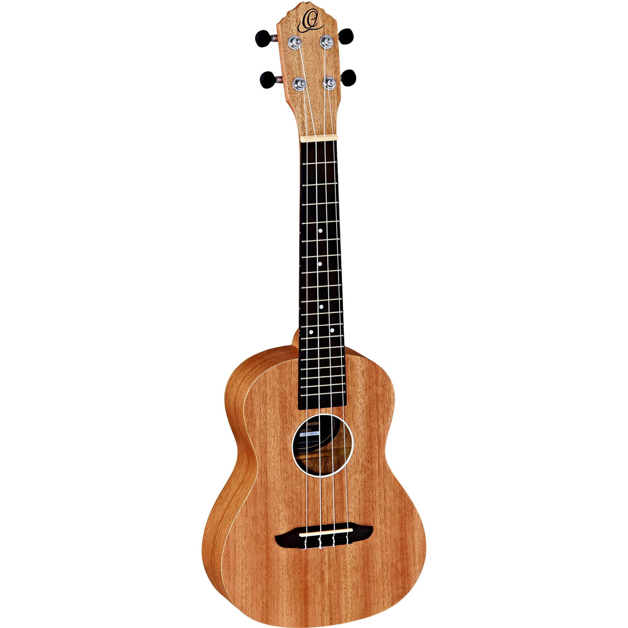 Ortega RFU11S concert ukulele (natural), with gig bag