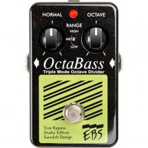 EBS OctaBass Studio Edition bass guitar effects pedal