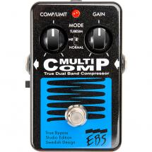 EBS MultiComp Studio Edition bass guitar effects pedal