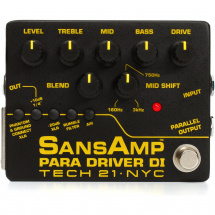 (B-Ware) Tech 21 SansAmp Para Driver DI Box