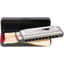 Cascha HH 2057 Special Blues harmonica + case and cloth