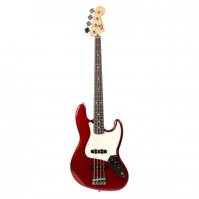 Fender Standard Jazz Bass Candy Apple Red RW