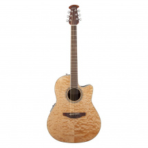 (B-Ware) Ovation CS24P-4Q Celebrity Standard Plus Natural Quilt Maple