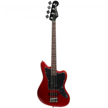 Squier Vintage Modified Jaguar Bass Special SS Candy Apple Red Special SS CAR