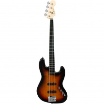 Squier Deluxe Jazz Bass IV, aktiv, 3-Color Sunburst EB