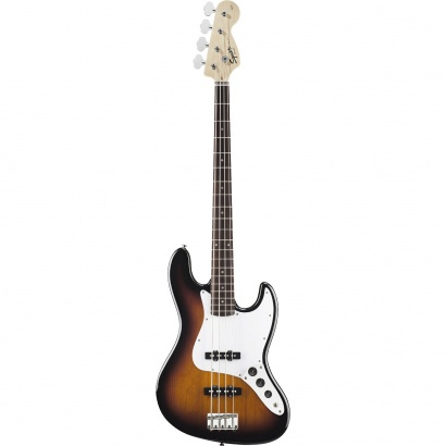 Squier Affinity Jazz Bass, Brown Sunburst RW