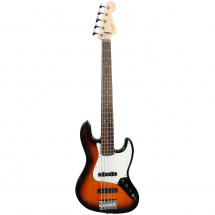 Squier Affinity Jazz Bass V 5-saitig, Brown Sunburst RW
