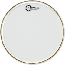 Aquarian 12-inch Classic Clear Snare Drum Resonanzfell