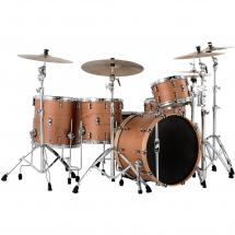 Mapex BP Design Lab Cherry Bomb Natural Satin 4-piece shell set