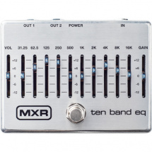 (B-Ware) MXR M108S Ten Band EQ Equalizer-Effektpedal