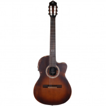(B-Ware) Ortega The Private Room DSSUITE-C/E Tobacco Sunburst met gigbag
