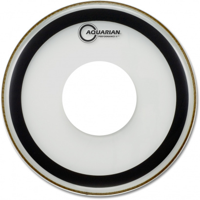 Aquarian 24 Zoll Performance II Power Dot Bassdrumfell
