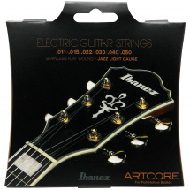 Ibanez IFAS6SL stainless flatwound electric guitar strings