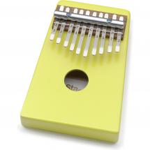 Stagg 10 Keys Kid Kalimba Yellow with protective cover