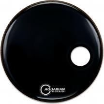 Aquarian Regulator Bass Drum Fell, Small,  22 Zoll, Off-Black
