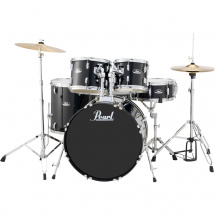 (B-Ware) Pearl RS525C-C31 Roadshow Drumset Jet Black