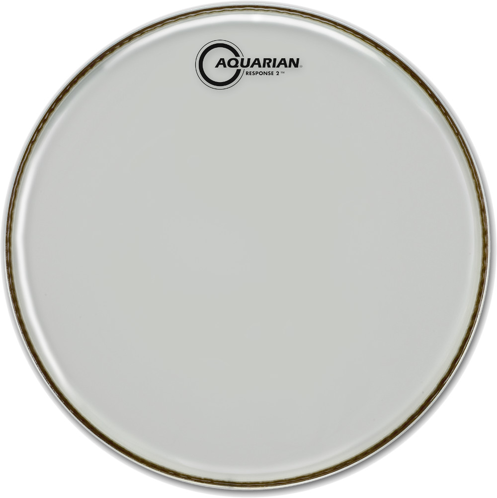 Aquarian Response 2 Clear 10 inch Drum Fell