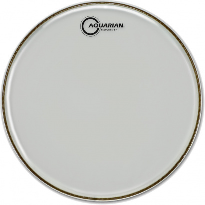 Aquarian Response 2 Clear 8 inch 8 Zoll Schlagfell, transparent