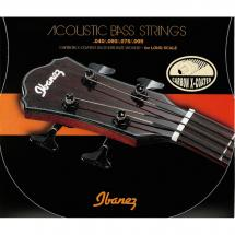 Ibanez IABS4XC Carbon X-coated acoustic bass guitar strings