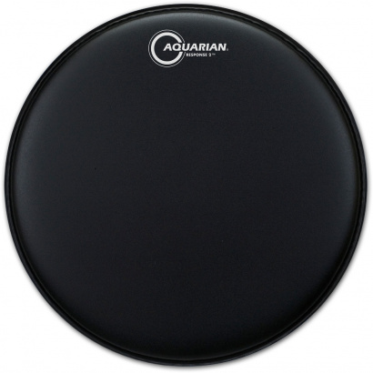 Aquarian Response 2 Texture Coated Black 10 Zoll Drum-Fell