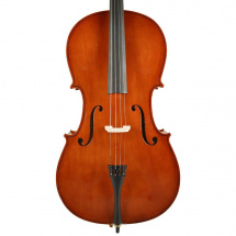 (B-Ware) Leonardo LC-1044 4/4 cello with bow and carrying bag